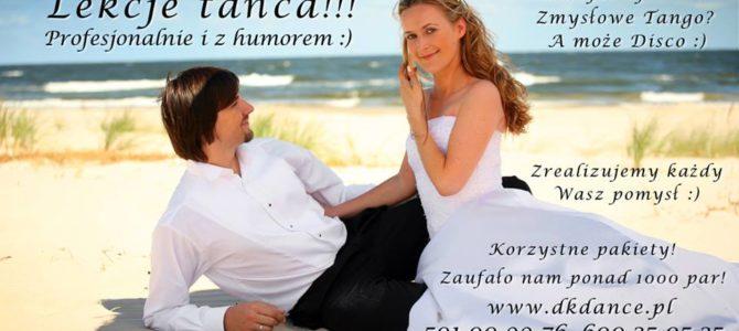 Lekcja tańca – nie tylko ślubne :)